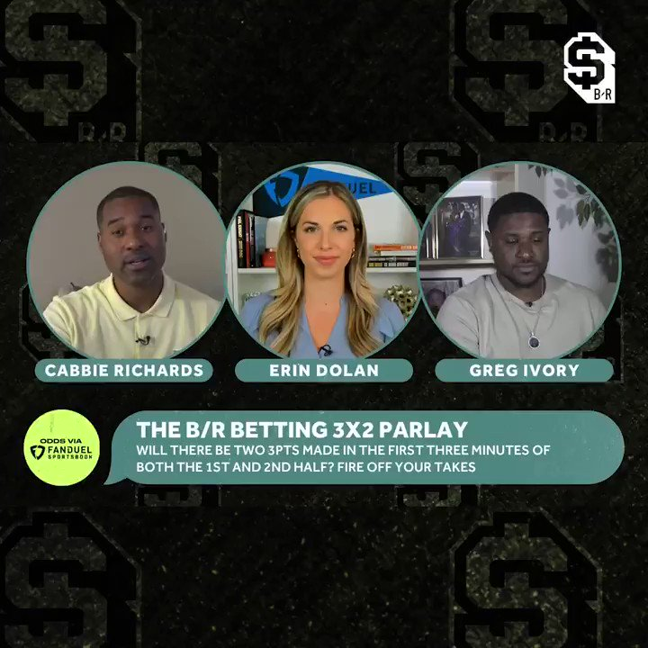 TIME TO BET THE 3x2 PARLAY 🤑  It's boosted to +410 tonight. Drop your bet slip if you're riding ⬇️  (@FDSportsbook) https://t.co/ICbXwVLpSb