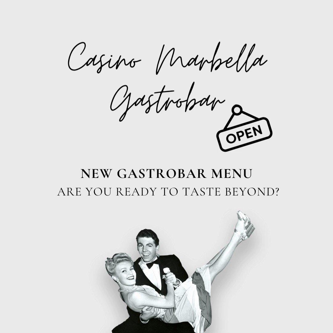 CAMBIO DE CONCEPTO ✨ Los tiempos cambian, y nosotros también. El nuevo concepto de Restaurante de Casino Marbella propone acabar con las largas sobremesas. Ahora el tiempo toma valor, buscando la inmediatez manteniendo la calidad. HORARIO: Todos los días de 20:00 a 00:00. https://t.co/A4y8x9gjNo