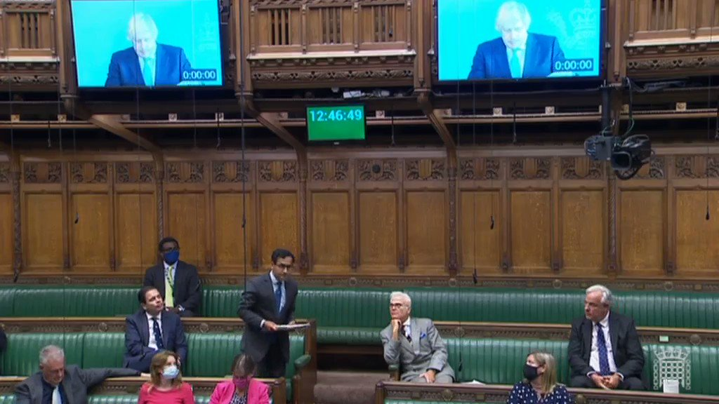 Thank you to @Rehman_Chishti MP who raised the need for a new cross government strategy for missing children and adults in PMQs today. As he rightly pointed out, the existing strategy is ten years old and a new approach is much needed because of... 1/4