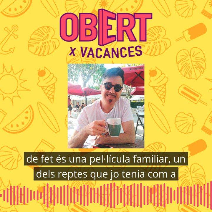 Image for the Tweet beginning: #ObertXVacances  ☕Avui apel·lem a la nostàlgia