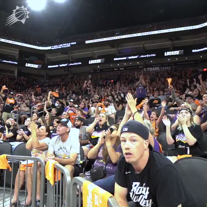 To the heart of the Suns,   Thank you for an incredible season. Every moment, every cheer, every fan…everything counted.    The energy in The Valley was unmatched, and it has left us ready for more. More to do, more to come.   Everything we want is on the other side of hard. https://t.co/H767UUyLpO