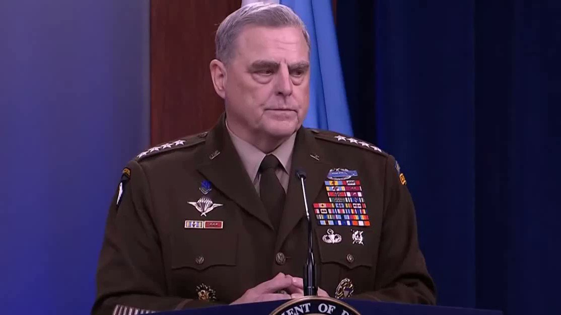 Gen. Milley Refuses To Get Into Details About 'White Rage' Because It's Too 'Complicated' And Nuanced For Press Conference
