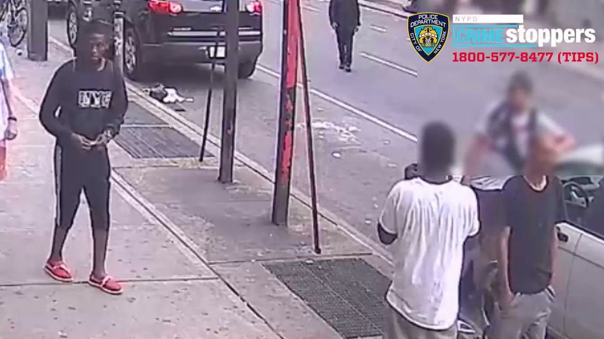 Image for the Tweet beginning: NYPD are seeking the identity
