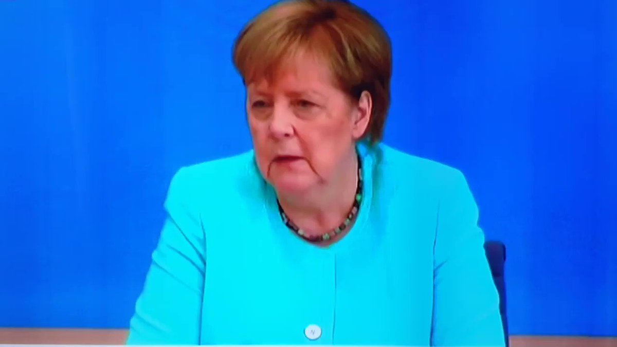 """""""It was absolutely important that Germany didn't grab all the vaccines for itself and that we shared them with our European neighbours and the world, even if that slowed us down for 1 or 2 months. We can very proud of that""""   Merkel's last summer press conf My subtitles Eng. https://t.co/Zzxhw7Ikn6"""
