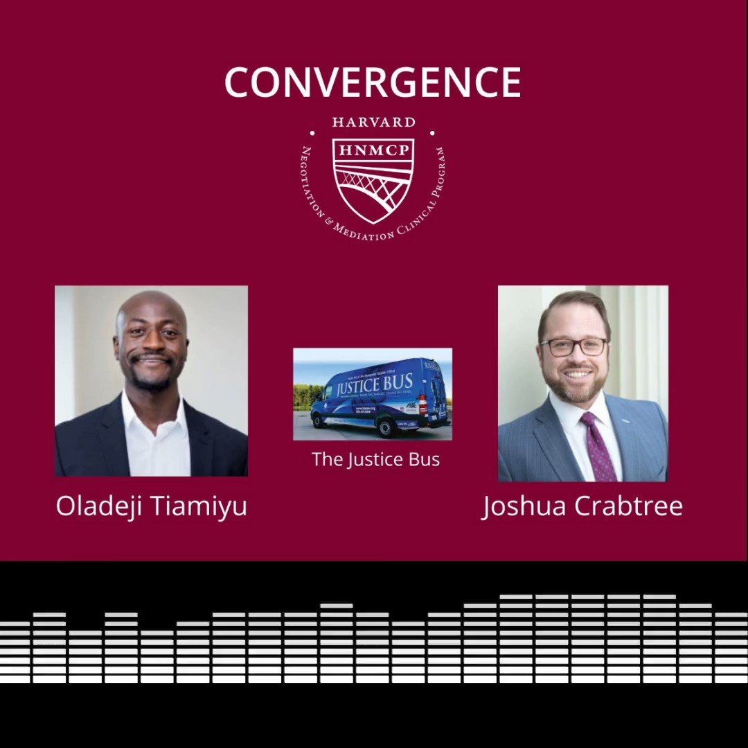 """Check out the latest episode of """"Convergence,"""" a podcast about dispute resolution and technology, featuring LABG's Executive Director, Joshua Crabtree!"""