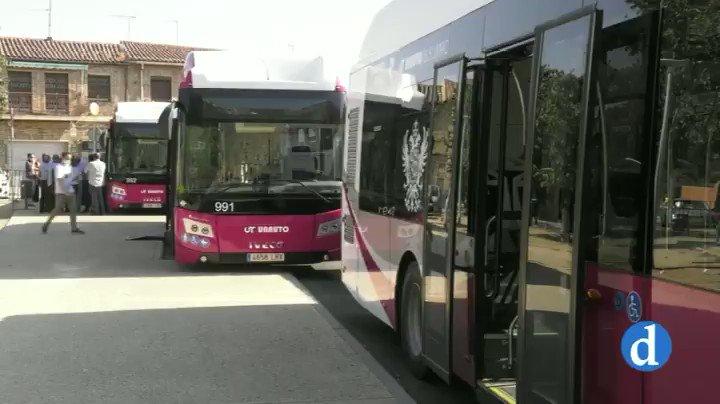 Image for the Tweet beginning: 🚍Toledo incorpora diez nuevos autobuses