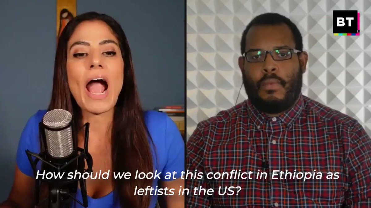 What should be the US left's position on Ethiopia & Tigray?  The US should not be supporting the TPLF, it's only inflaming the conflict. Let Ethiopians solve their problems without US interference, argues @EugenePuryear.  WATCH NOW with @RaniaKhalek: https://t.co/97eyWRqDVg https://t.co/csd0tSR36T