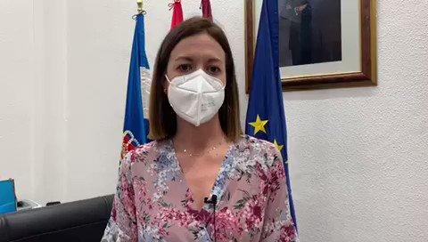 La Alcaldesa de Águilas,  Mari Carmen Moreno pide a la población responsabilidad ante el incremento de casos positivos que se están produciendo en Águilas durante la última semana.  @MCarmenMoreno