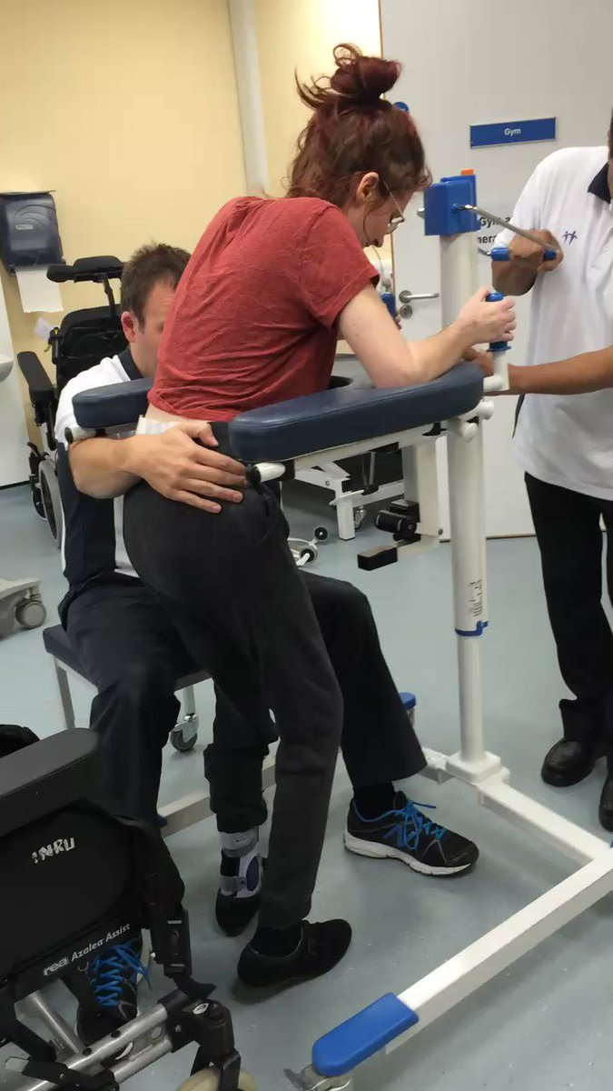 This was four months after the crash, when I had finally started to learn how to walk again 💪  #rehabilitation #tb2014 https://t.co/rvcgNE0VsM