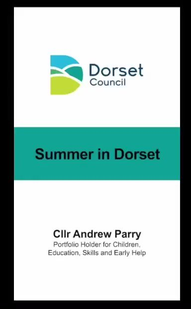 RT @DorsetCouncilUK: Don't miss out on our amazing Summer in Dorset holiday activities, free for families who receive free school meals - it is going to be brilliant! Sign-up 👉 https://t.co/DgxZjtqt0t  Watch Cllr Parry explain why it is going to be a great! ☀️  👇