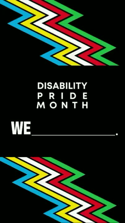 Happy #DisabilityPrideMonth!   At #SafehavenTO, we are proud of who we are.   We will always strive to advocate for accessibility, promote awareness on disability rights, and create an inclusive community where #WeBelong. 💙 https://t.co/JHyp6jQzsR