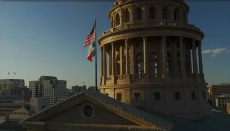 Image for the Tweet beginning: Texas is the front lines