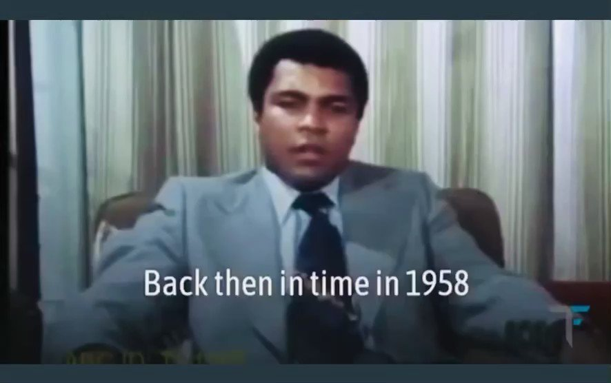 The day that Muhammad Ali found out that he wasn't African. https://t.co/6nGVgeuf62