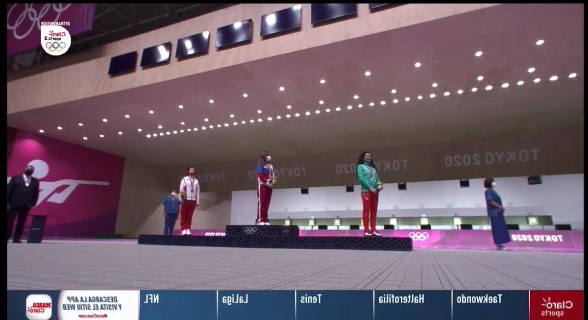 @Raquelstolar Quien dijo Russia 🇷🇺 el mejor himno no puede no ser oído en #Tokio2020  😂😂 ponerle voluntad la cam rusa 🎯🥇#russia https://t.co/b32jxHLlMC