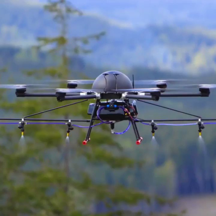 Drones are playing  vital role in agriculture