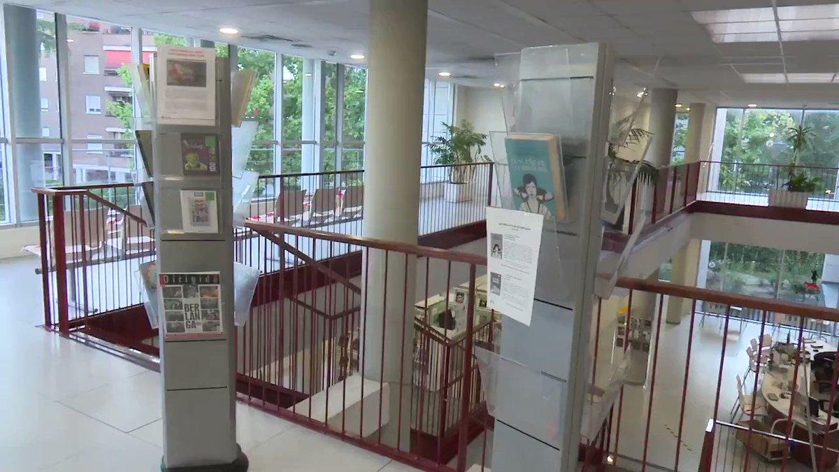 Image for the Tweet beginning: Las bibliotecas municipales de #Sanse