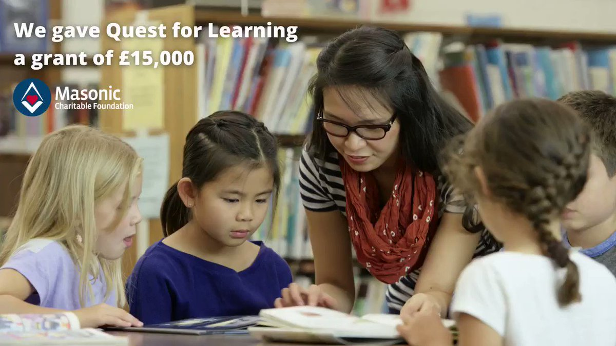 Image for the Tweet beginning: 👏Our friends at @Quest_Learning are