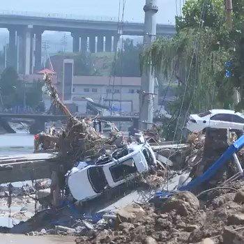 Image for the Tweet beginning: Число жертв наводнений в провинции