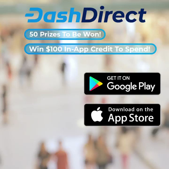 Don't miss out on a great opportunity to get to know the DashDirect app. Our promotion starts today and runs through August 30. Awards will be distributed on August 31, 2021. As if you needed another reason to shop, eat and play...