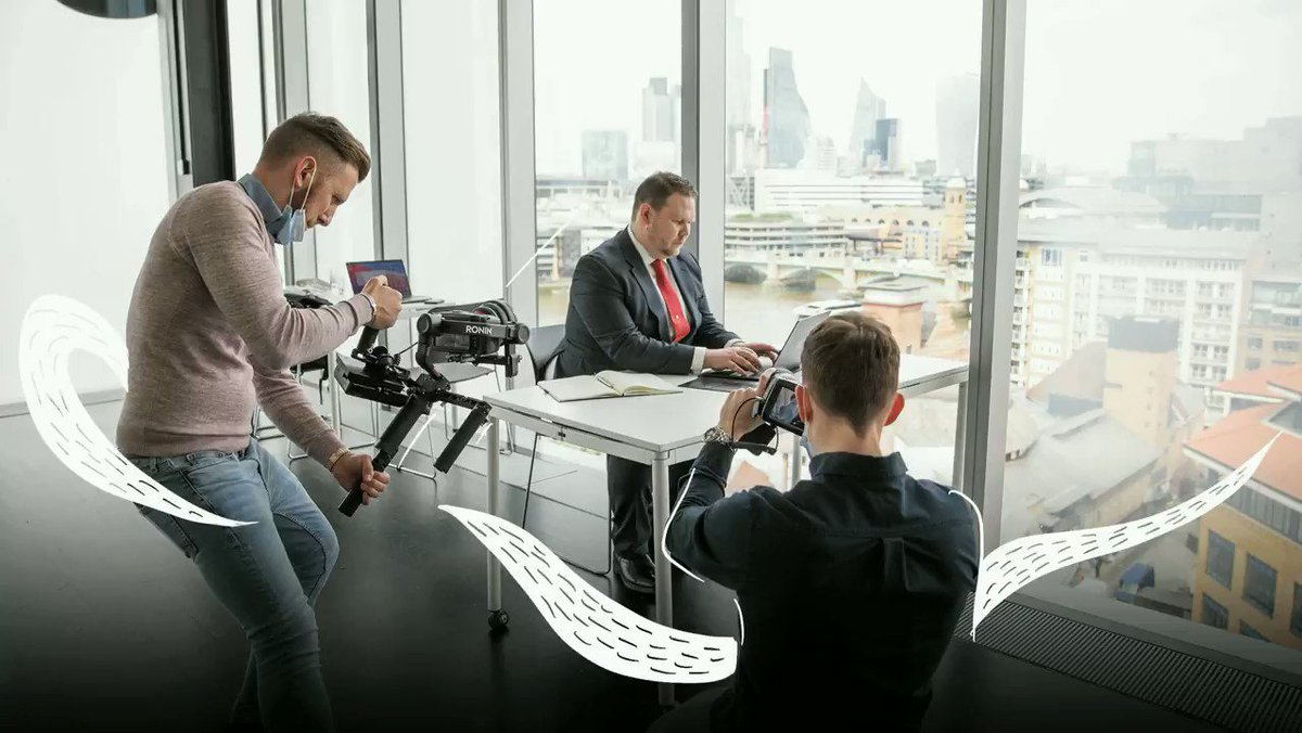 Hello St Paul's! A throwback to our shoot earlier this month with the incredible team at Ali PSG. It was a privilege to be working at the Tate Modern, with breath-taking views over central London. Find out more about what we do offline: https://t.co/EGTx9U9TjW