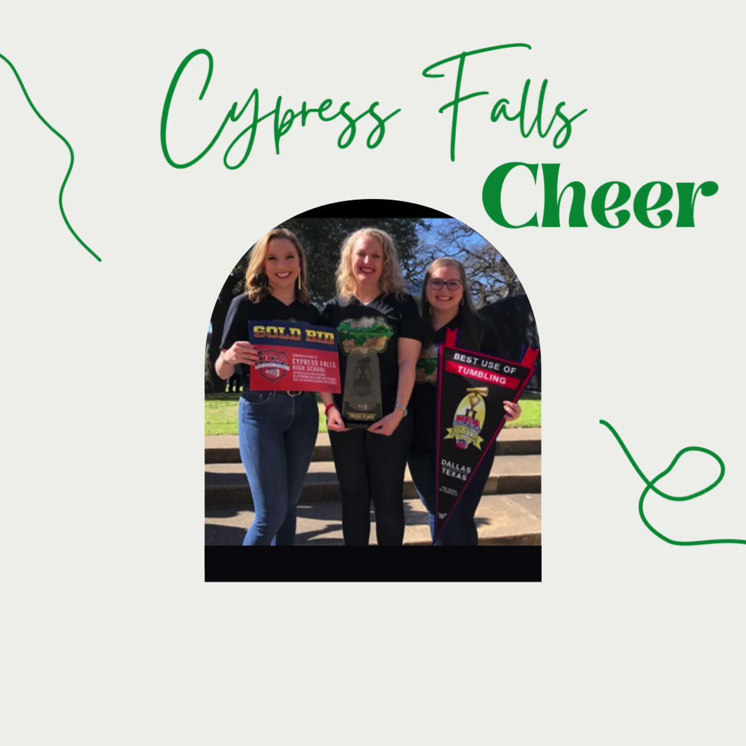 Image for the Tweet beginning: Next up, our amazing Cheer
