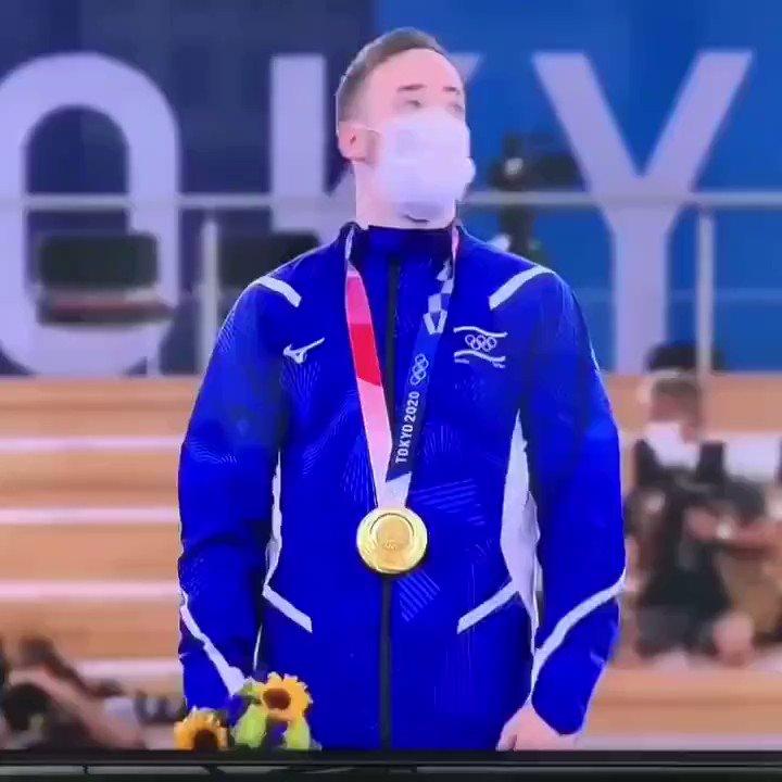 """عزف النشيد الوطني ال إسرائيلي """"هاتيكفاه"""" (""""الأمل"""") في أوليمبياد طوكيو 2020 بعد"""