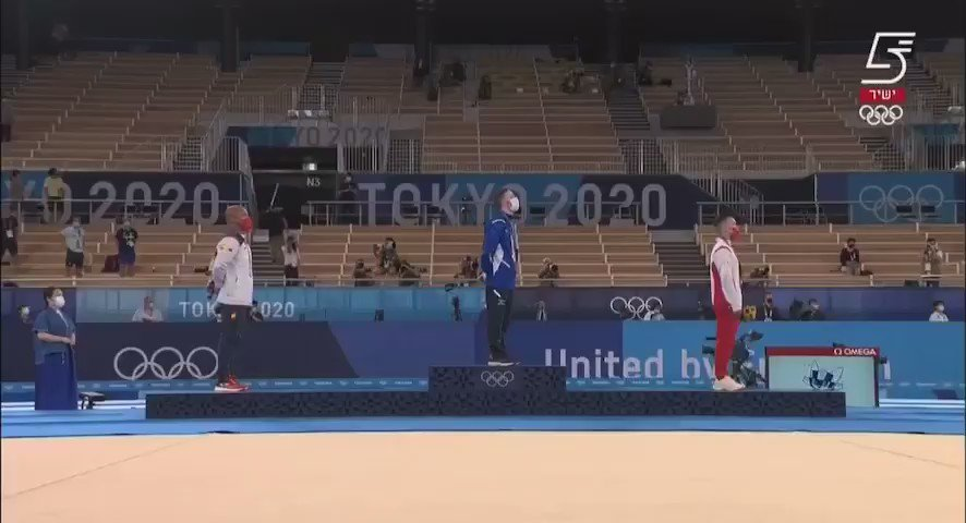 """فخر واعتزاز: عزف النشيد الوطني ال إسرائيلي """"هاتيكفاه"""" (""""الأمل"""") في أوليمبياد طوكيو_2020 بعد فوز…"""
