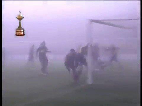 Image for the Tweet beginning: ¿Hablan de partidos con niebla?  Todos