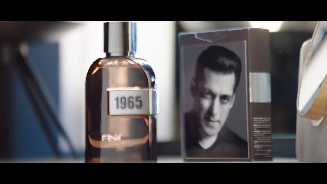 @BeingSalmanKhan: My passion, my style, my gratitude now bottled.Presenting 1965 by FRSH, a fragrance that captures the essence of #beingsalmankhanAvailable exclusively on @myntraClick here to get it-  #1965 #FRSH #perfume #wearyourgratitude @FrshGrooming