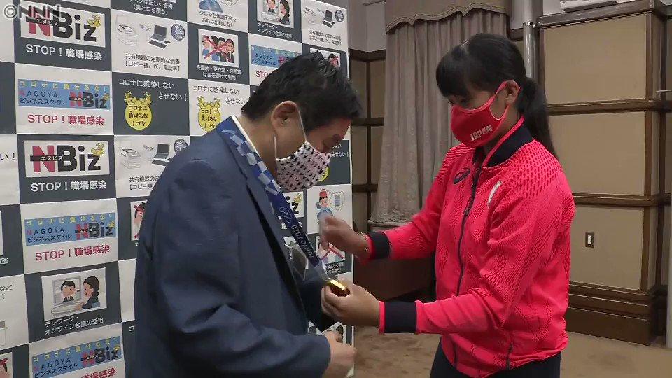 河村たかし市長がかじった金メダル、新たなメダルへ交換することに!