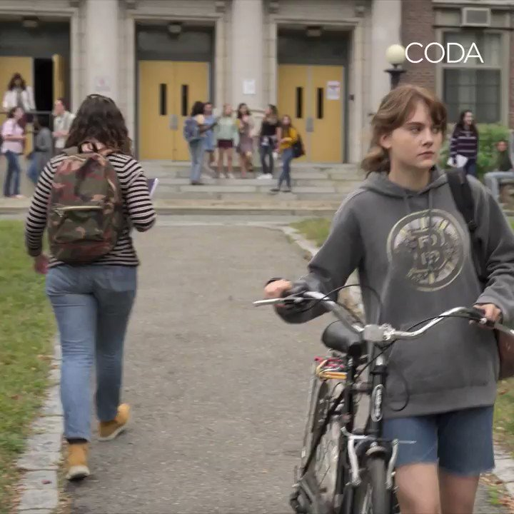 CODA has arrived a day early! And there's nothing quiet about it! Watch it NOW on @AppleTVPlus  #CODAfilm @AppleTV https://t.co/EeI68Leat6