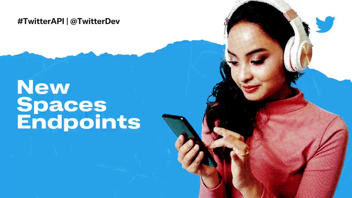All systems go! Help shape the future of Twitter Spaces with the new Spaces endpoints. ✨