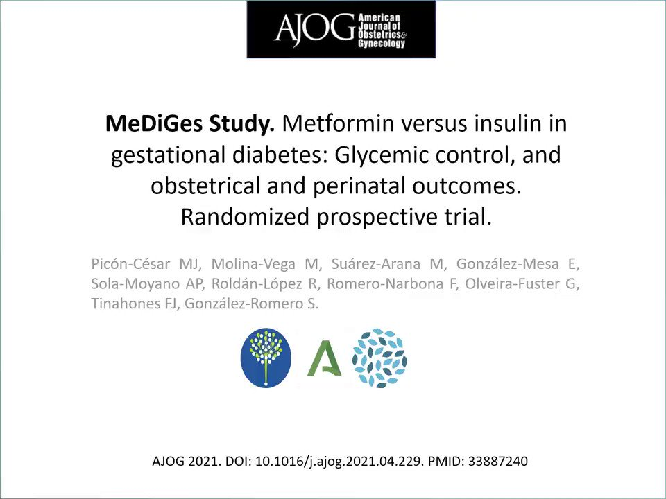 Image for the Tweet beginning: #InvestigandoenDiabetes ➡️ Las Dras. Mª