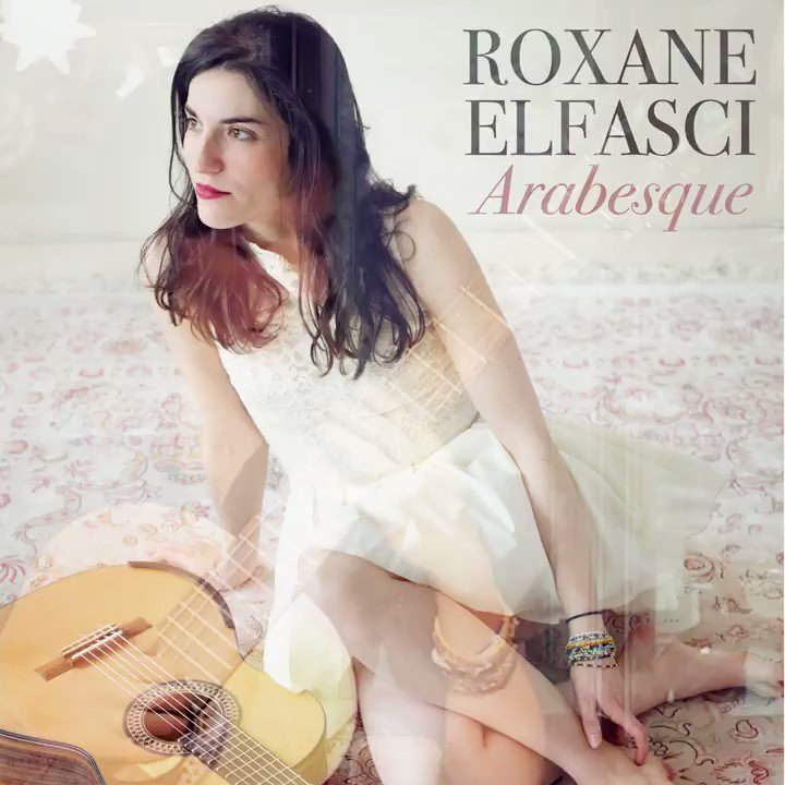 Guitar Virtuoso and YouTube sensation Roxane Elfasci has released the stunningly beautiful EP 'Arabesque' 🆕🍒🎸🎶 Out now on all music platforms ⬇️ https://t.co/r7oFXflnvv https://t.co/wmfPpAa4p3