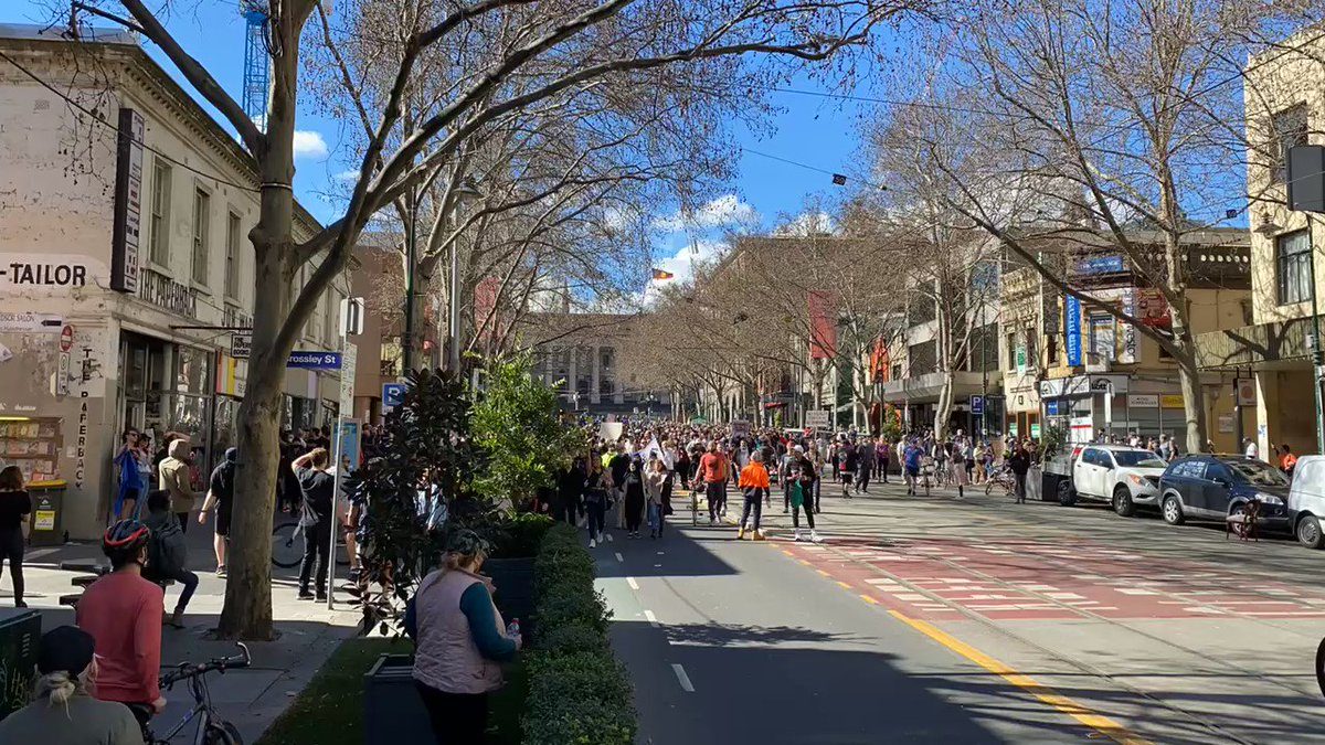 Clashes & arrests in Sydney, Melbourne as anti-lockdown protesters defy Australian police pledge to unleash 'full force' GZ5fHsjKu_aZnaP1