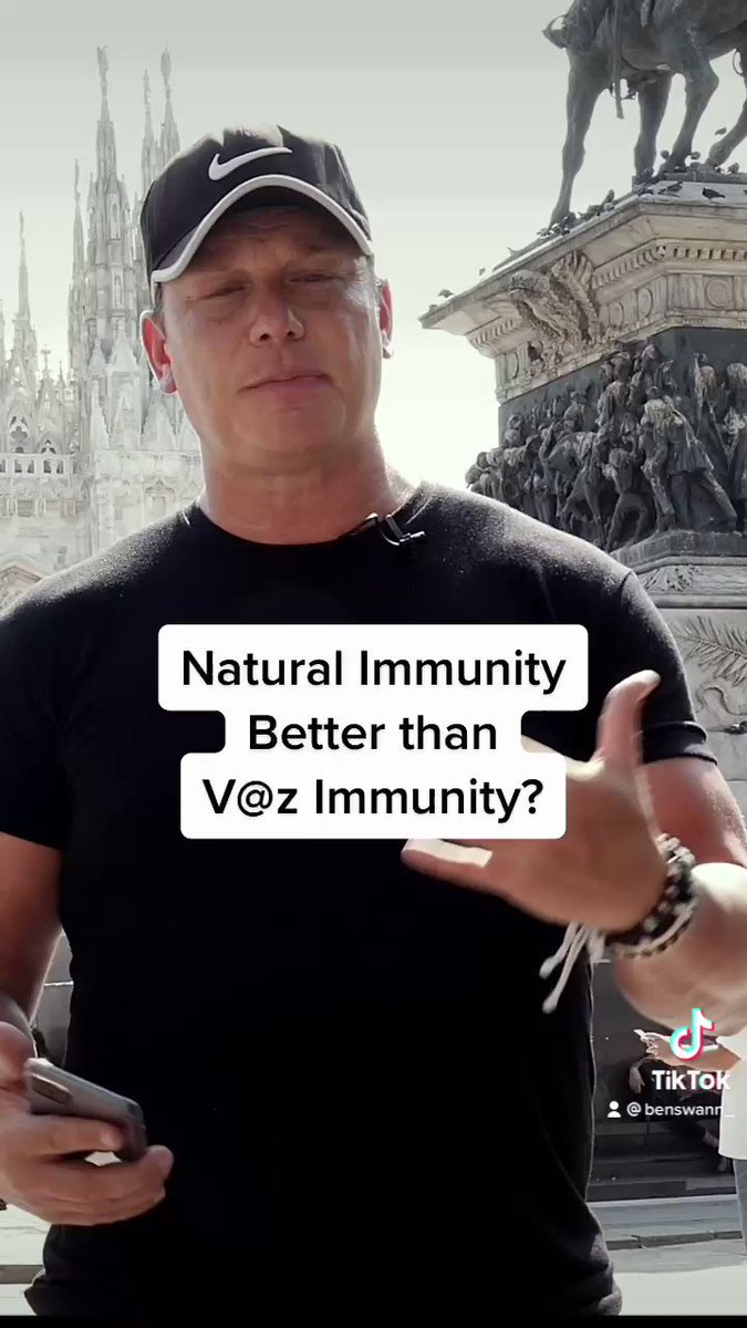 Image for the Tweet beginning: Is natural Immunity better than