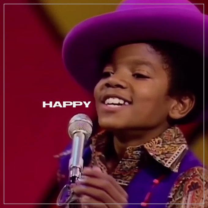 A legend with the most beautiful smile in the world, happy heavenly birthday michael jackson