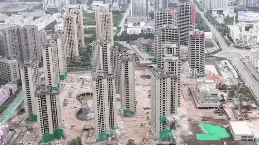 Image for the Tweet beginning: Re-upping the stunning demolition videos