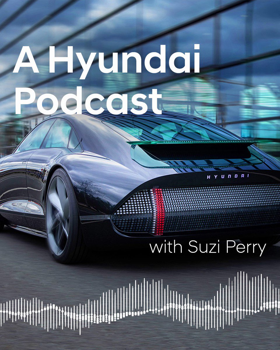 """The first season of our #Hyundai Podcast """"Are We There Yet"""" is now complete. By talking to the people and bright minds behind the brand, our host Suzie Perry gives an insight into the technologies and revolutionary ideas powering Hyundai. More information: https://t.co/DEU2ZJ1hJd https://t.co/QVt4wj8MH0"""