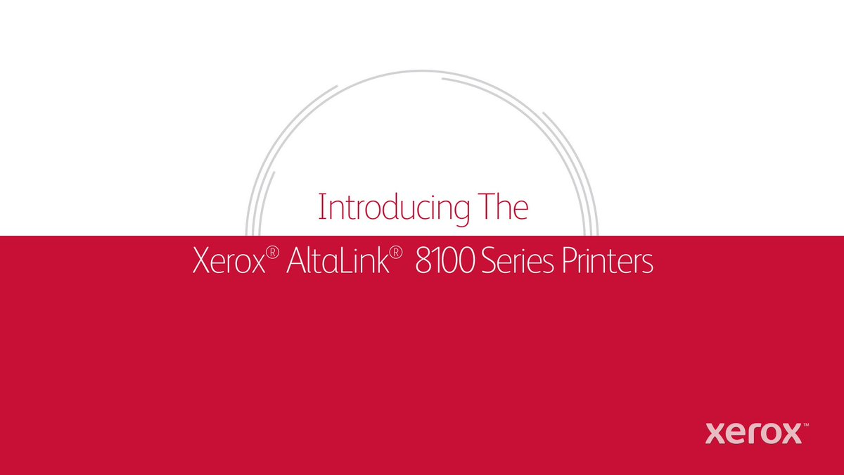 Image for the Tweet beginning: Did you know Xerox AltaLink