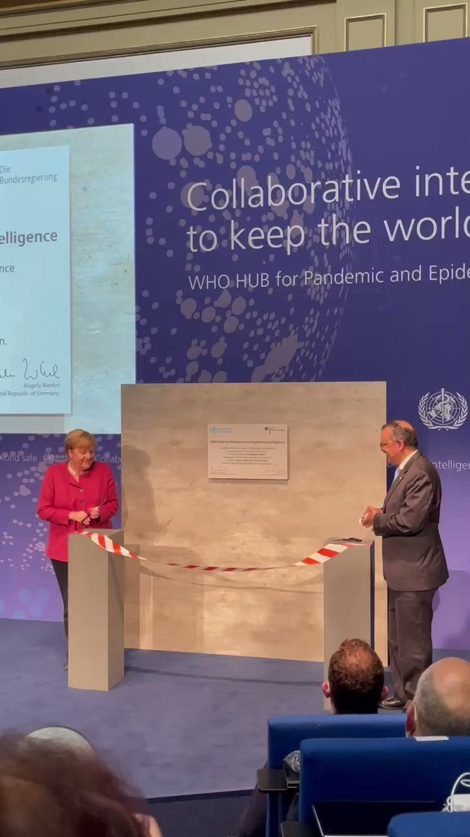 PANDEM-2 was delighted to see the official launch of the @WHO hub for #pandemic & epidemic intelligence. An excellent initiative for better pandemic management.   Well done to everyone involved including our project partners @rki_de 🎊