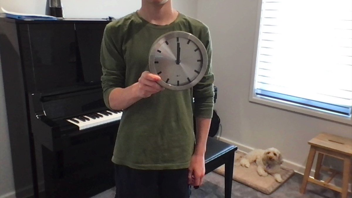 Lockdowns won't let our students stop them from mastering the art of music. Check out this cool time lapse of a Year 8 student undertaking an hour of piano practice in just 46 seconds!