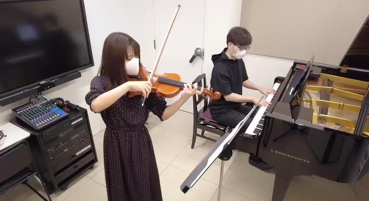 高松あい_violinTwitter投稿サムネイル画像