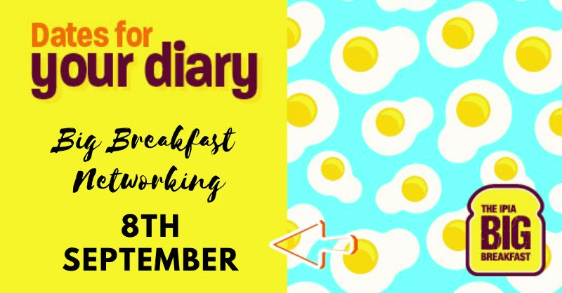 Image for the Tweet beginning: The IPIA Big Breakfast events