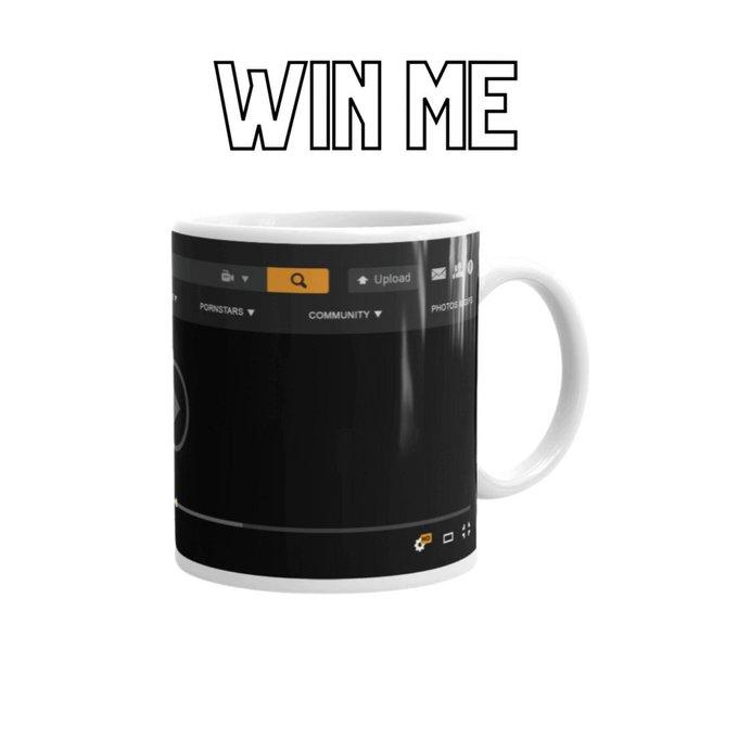 RETWEET to WIN our classic Pornhub Mug! 🤩 https://t.co/o4JsXiP77g