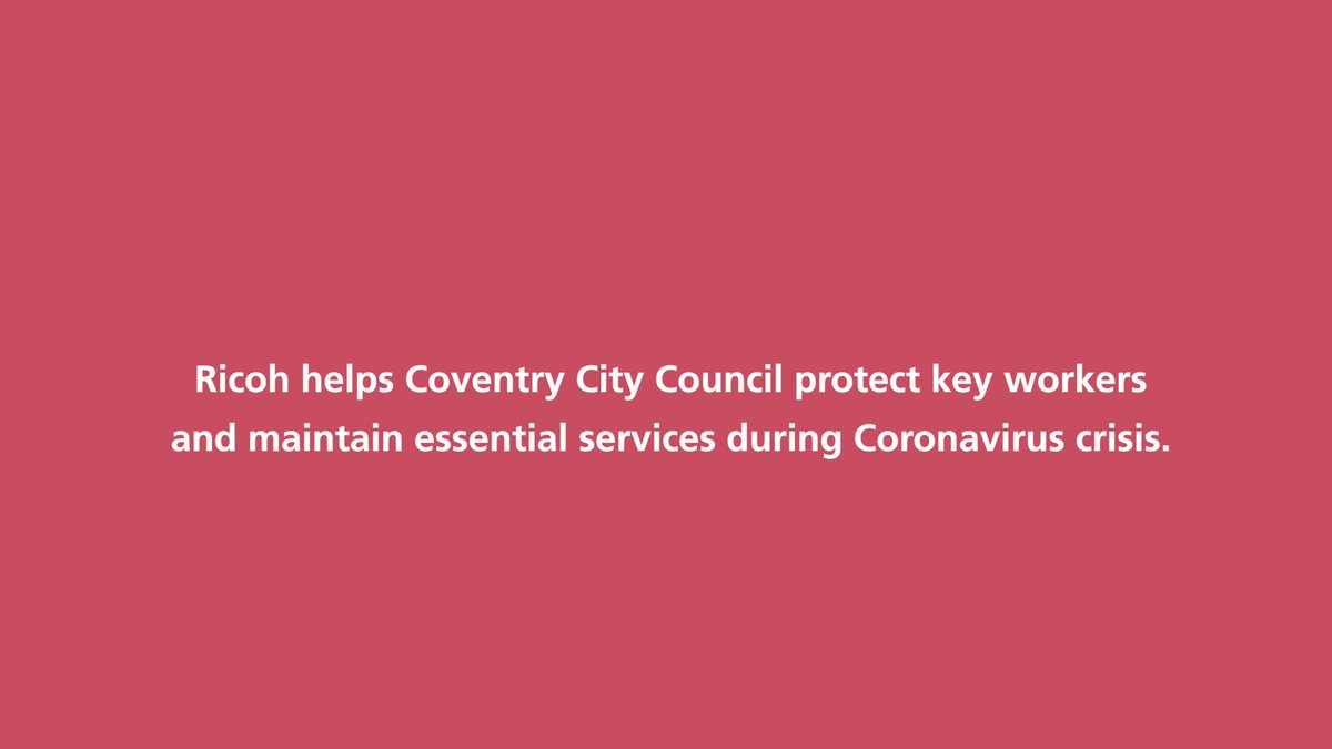 Image for the Tweet beginning: When the pandemic hit, @coventrycc