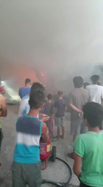 Ελαιώνας στρατόπεδο προσφύγων #Refugeesgr #antireport https://t.co/OkF9mG5ZWU