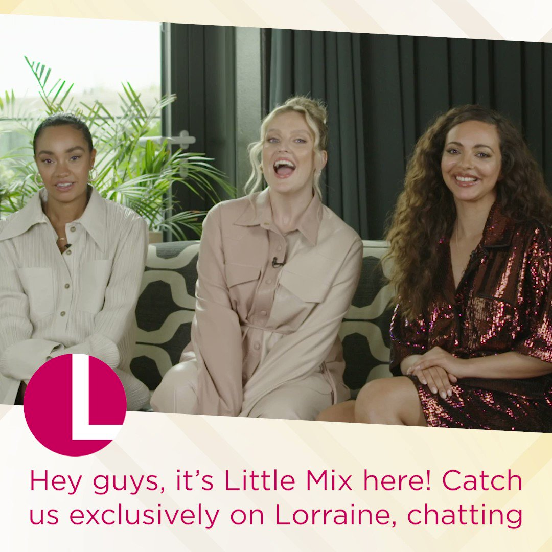 Look who we have in the mix on Wednesday's show! @LittleMix join Lorraine for an exclusive interview, talking all things tour and their brand-new album! Don't forget to tune in from 9am! ✨💗 https://t.co/sFr1EdvT9r