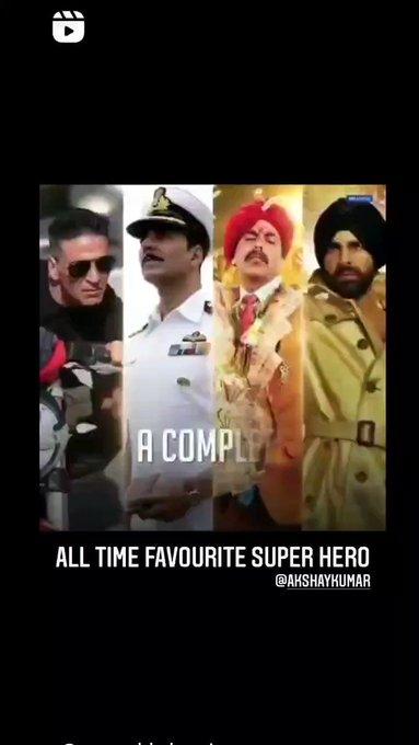 Happy Birthday Akshay Kumar Sir God bless you sir jii Multi talented Super Action & comedian Hero
