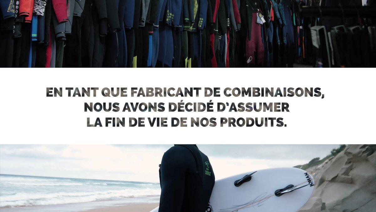 Nous avons décidé d'assumer la fin de vie de nos produits et de développer notre propre programme de recyclage. #2ndlife #recycle #surf #wetsuit #climatechange #soöruz